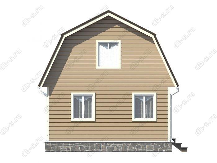 Фото каркасного дома под ключ 6 на 5