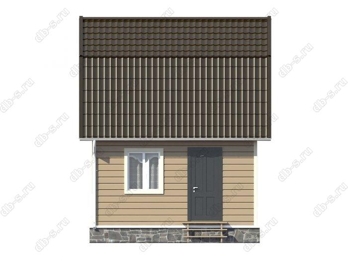 Каркасный дом 6х5 ломаная крыша вальмовая крыша