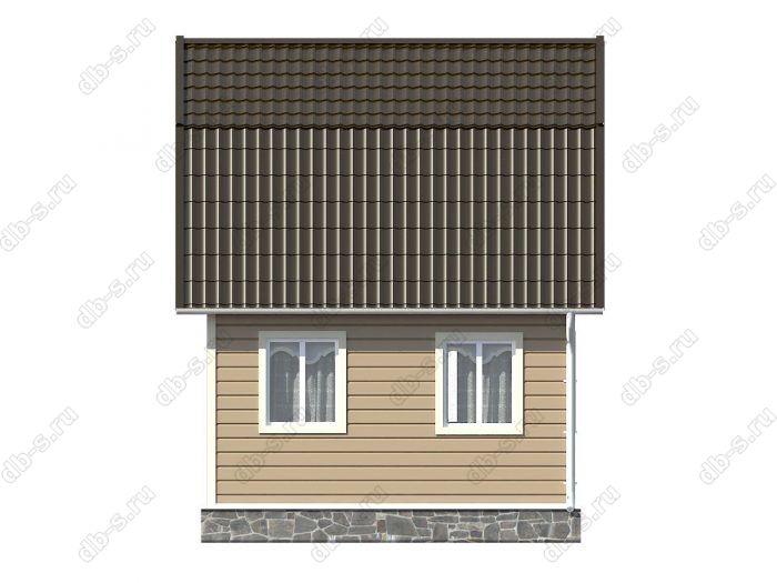 Строительство каркасных домов 6х5 под ключ