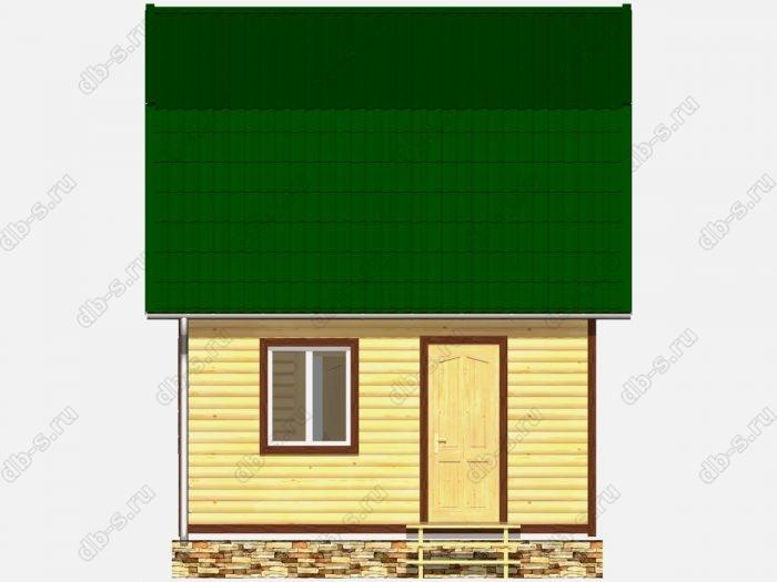 Дом из бруса 6х5 ломаная крыша вальмовая крыша