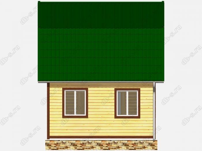 Строительство домов под ключ 6х5 из профилированного бруса