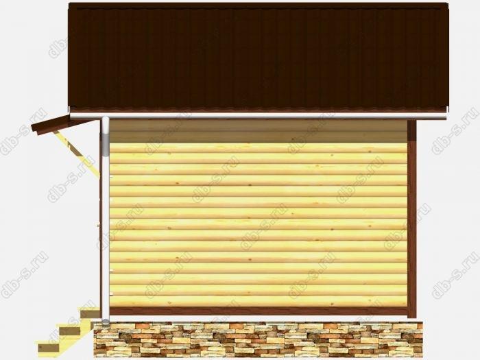 Строительство домов под ключ 4х4 из профилированного бруса