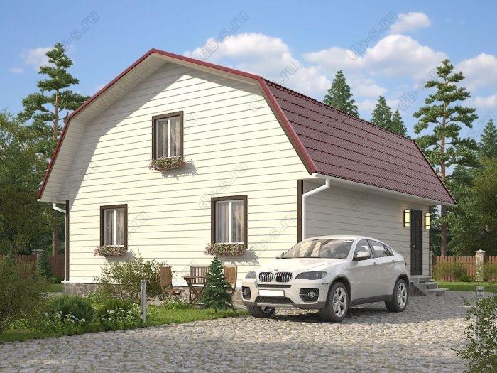 Проект с мансардой 9 на 9 каркасный дом под ключ ломаная крыша вальмовая крыша