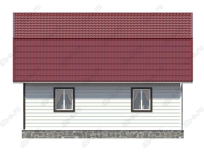 Каркасный дом 9х9 ломаная крыша вальмовая крыша