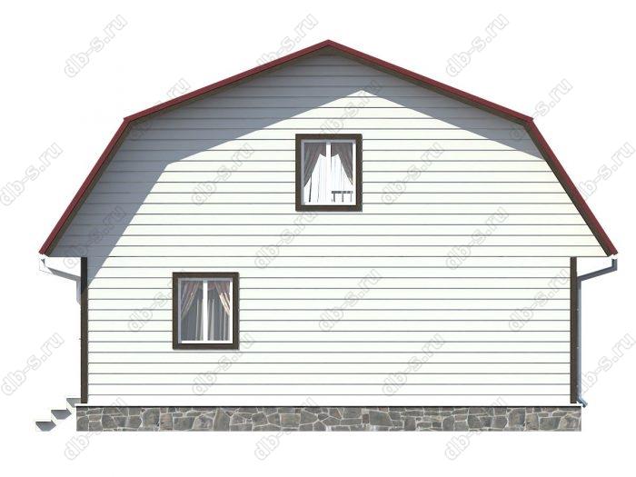 Проект каркасного дома площадью 149кв.м.