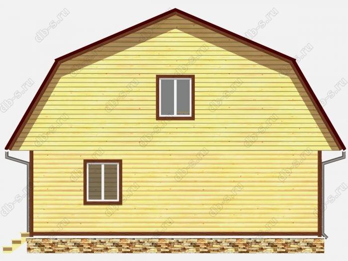 Проект дома из бруса площадью 149кв.м.