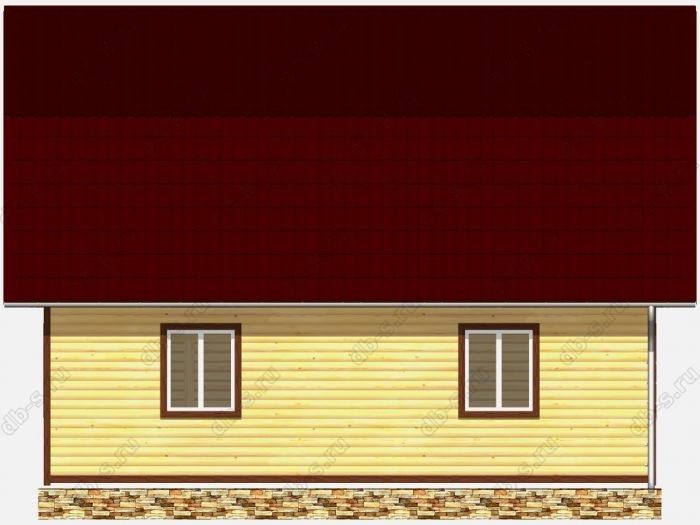 Строительство домов под ключ 9х9 из профилированного бруса