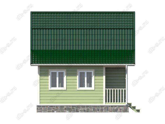 Строительство каркасных домов 8х6 под ключ