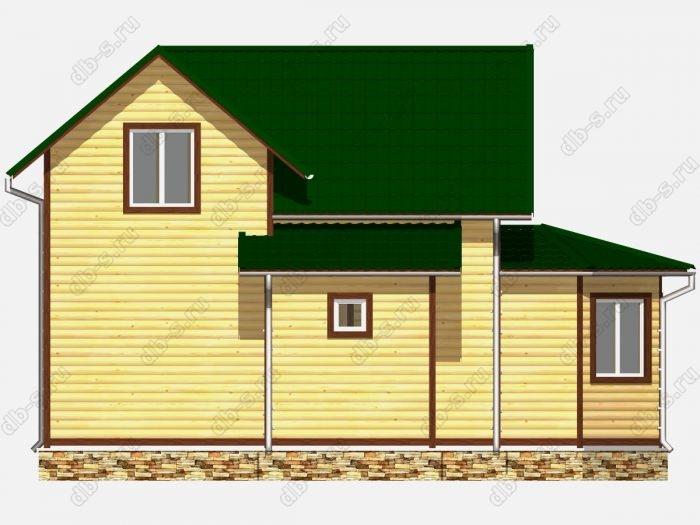 Строительство домов под ключ 9х9.5 из профилированного бруса