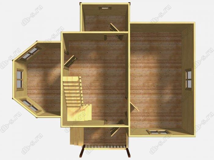 Проект дома для постоянного проживания 9 на 9.5
