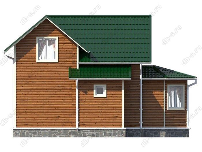 Проект каркасного дома площадью 100кв.м.