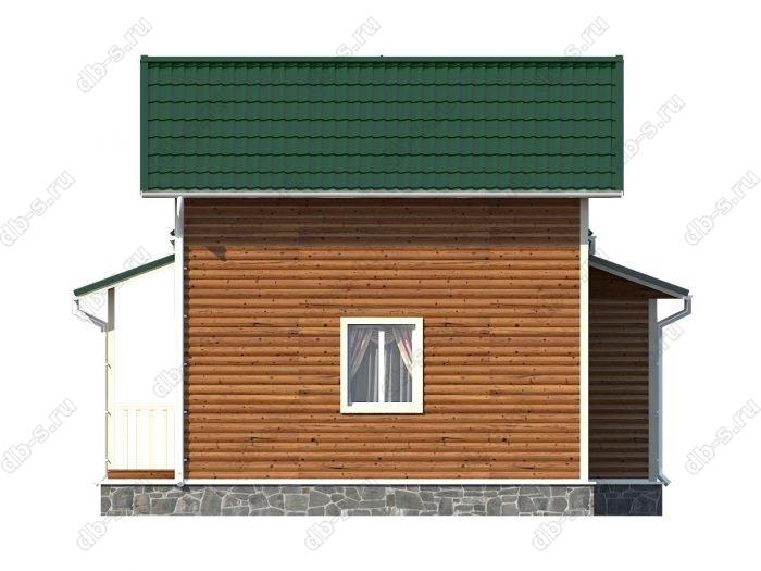 Строительство каркасных домов 9х9.5 под ключ