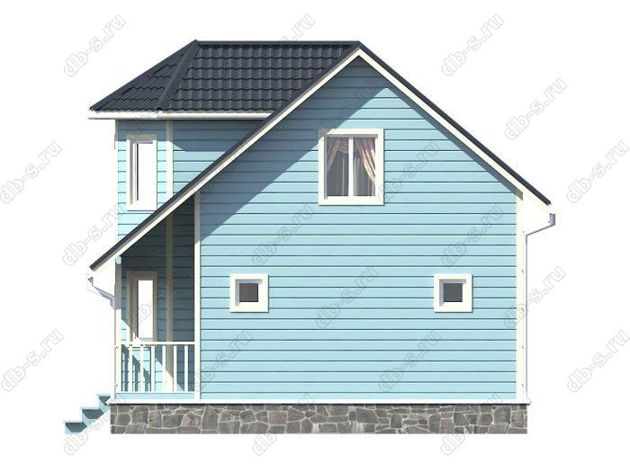 Строительство каркасных домов 7.5х9 под ключ