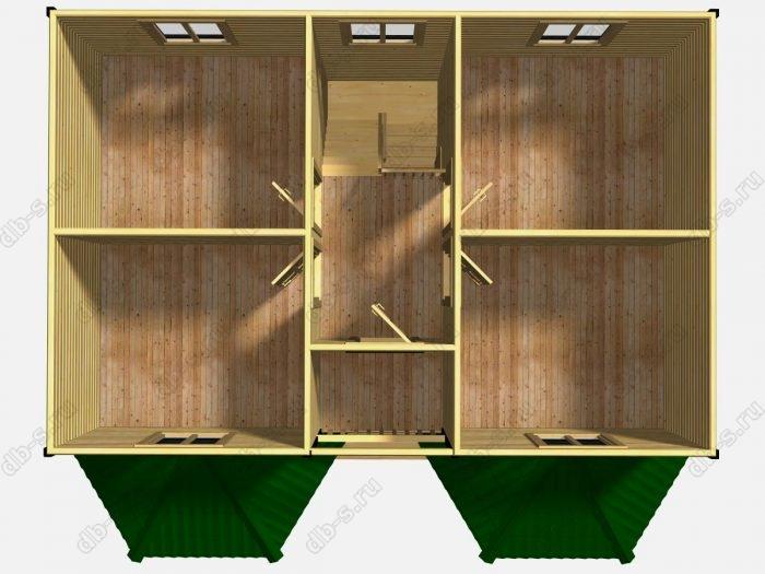 Проект дома для постоянного проживания 7 на 9