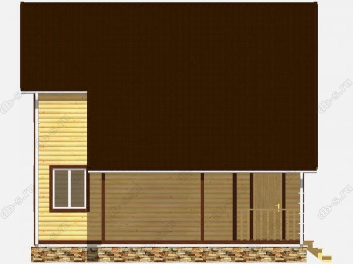 Строительство домов под ключ 8х8 из профилированного бруса