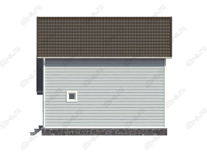 Строительство каркасных домов 8х8 под ключ