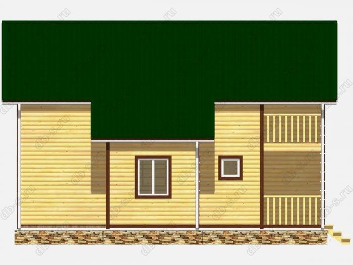 Строительство домов под ключ 8х10 из профилированного бруса