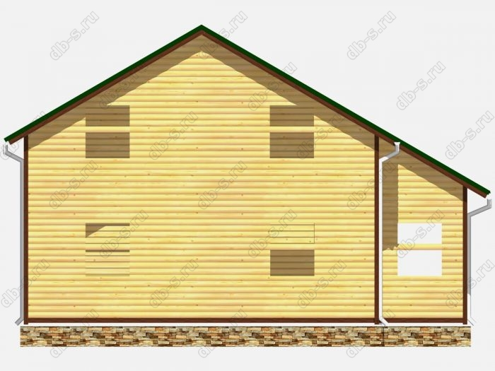 Проект сруба дома площадью 150кв.м.