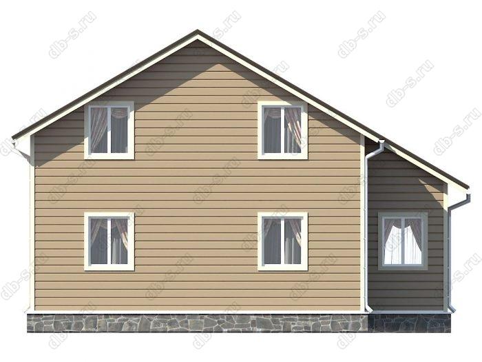 Проект каркасного дома площадью 150кв.м.