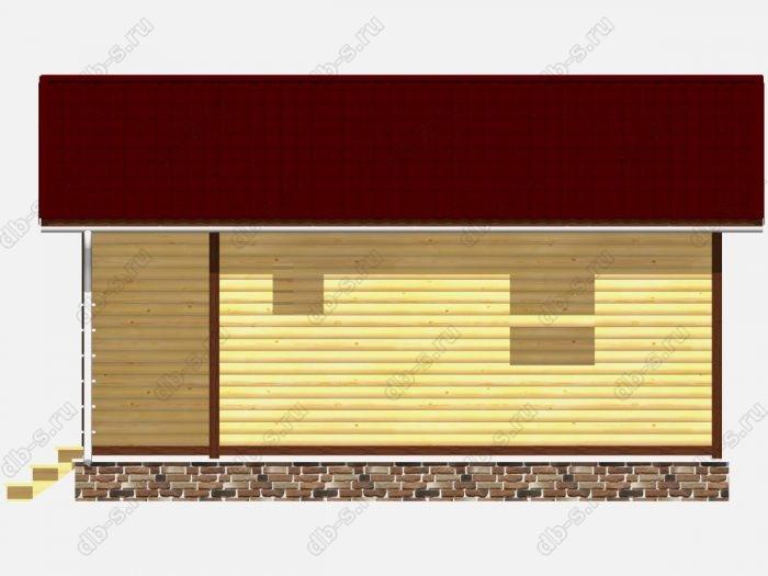 Проект дома для постоянного проживания 6 на 7.5