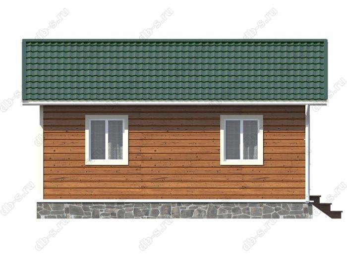 Строительство каркасных домов 6х7.5 под ключ