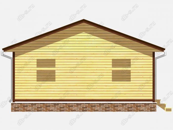 Проект дома для постоянного проживания 7.5 на 9