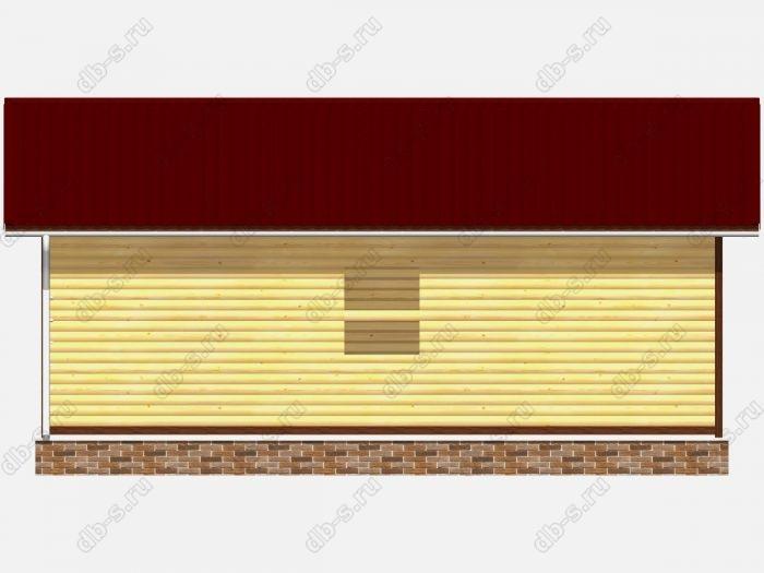 Деревянный сруб 8х9 под усадку