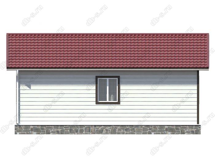Проект дома для постоянного проживания 8 на 9