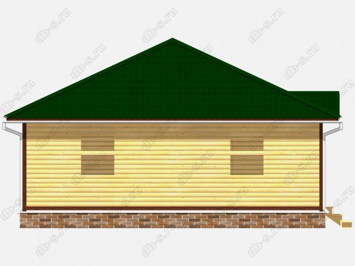 Проект дома для постоянного проживания 9 на 11