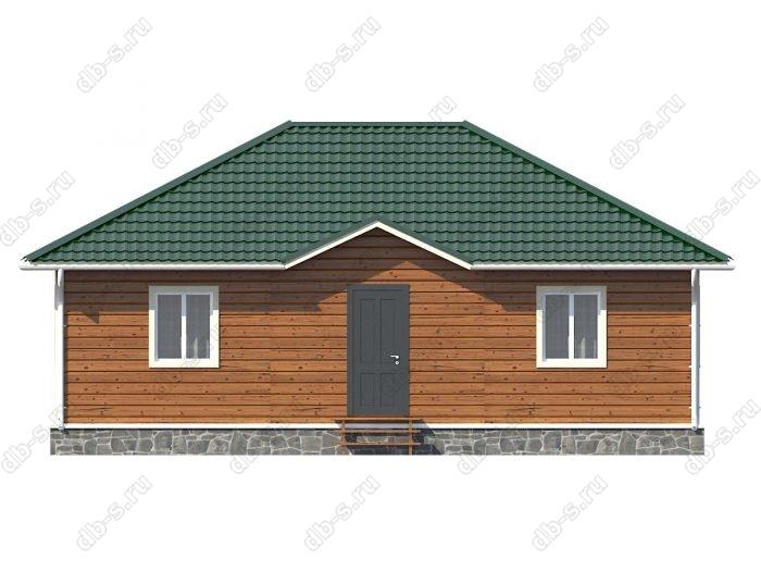 Проект каркасного дома площадью 99кв.м.