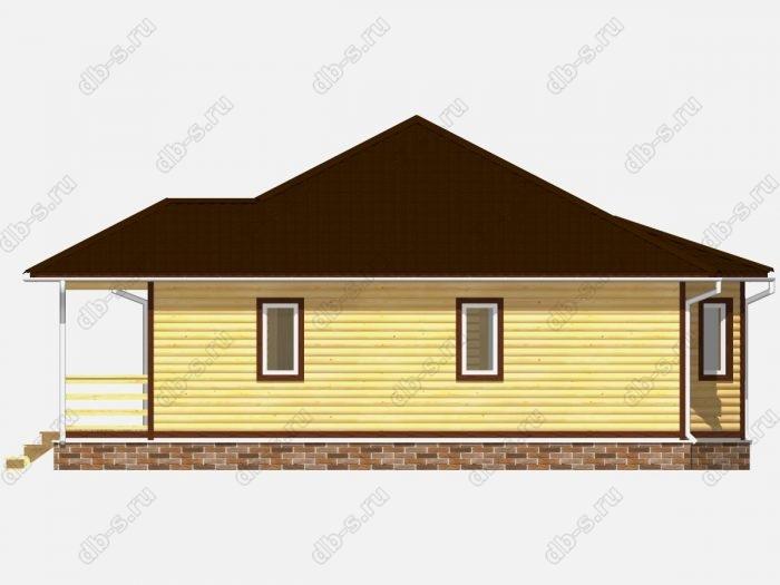 Строительство домов под ключ 10х10 из профилированного бруса