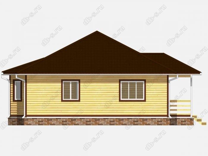 Проект дома для постоянного проживания 10 на 10