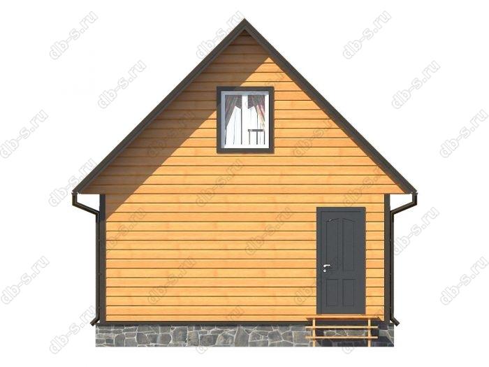 Фото каркасного дома под ключ 6 на 6