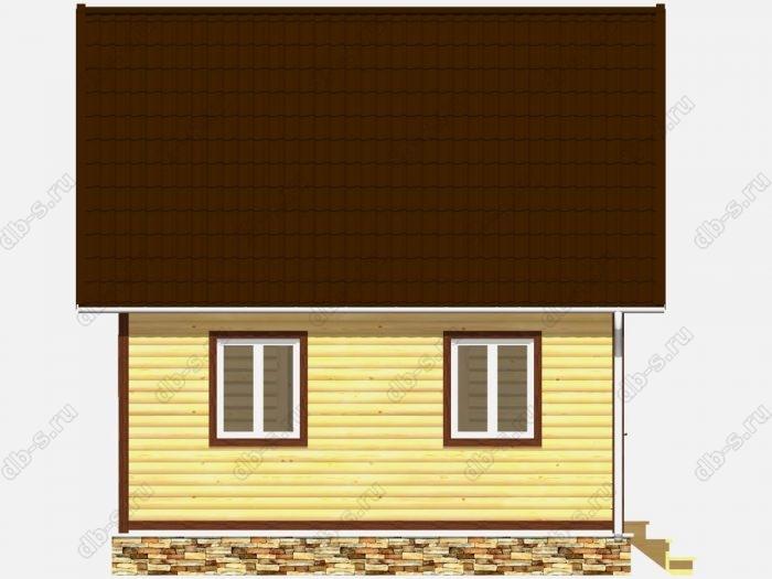 Строительство домов под ключ 6х6 из профилированного бруса