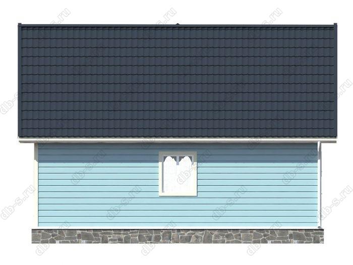 Проект каркасного дома площадью 87кв.м.