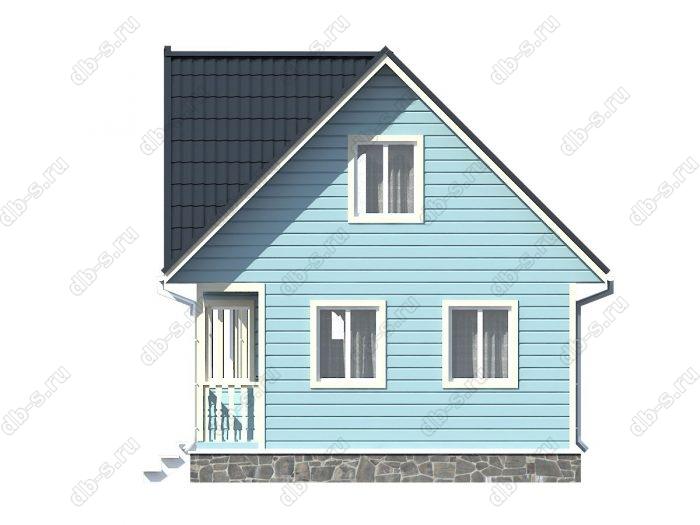 Строительство каркасных домов 6х9 под ключ