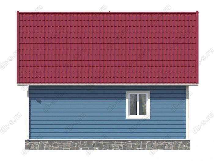 Проект каркасного дома площадью 94кв.м.