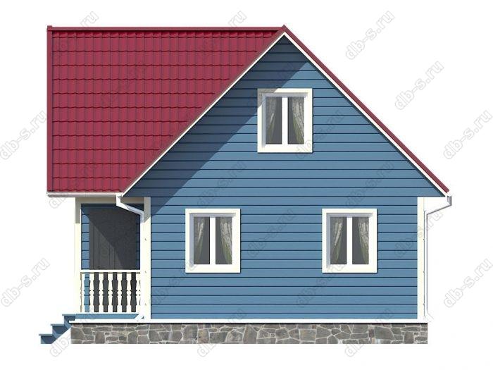 Строительство каркасных домов 8х7.5 под ключ