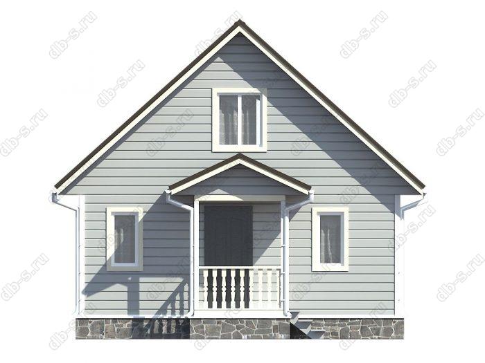 Фото каркасного дома под ключ 7 на 10