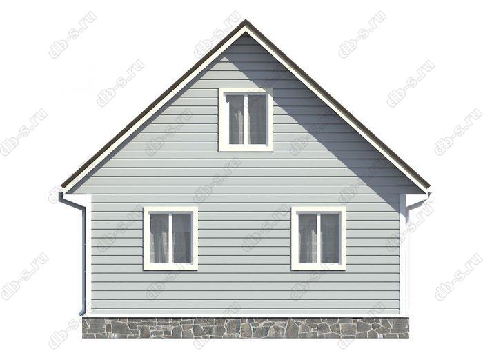 Проект каркасного дома площадью 102кв.м.