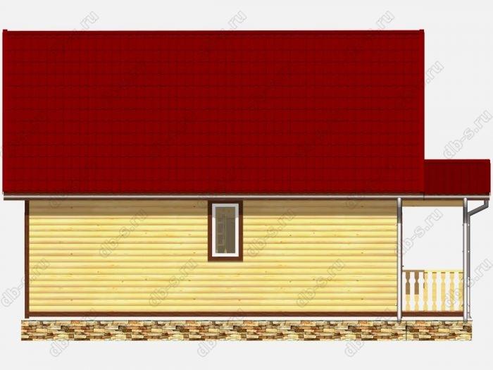 Строительство домов под ключ 7х10 из профилированного бруса