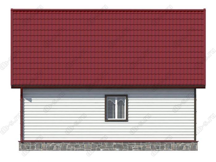 Проект каркасного дома площадью 110кв.м.