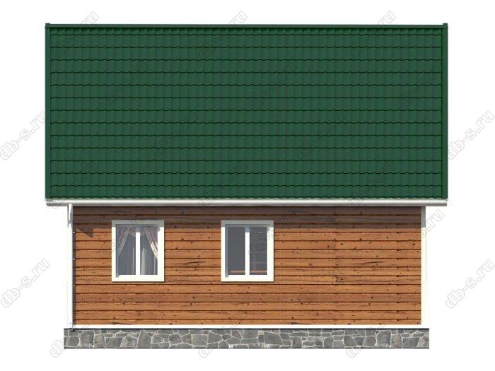 Проект каркасного дома площадью 82кв.м.