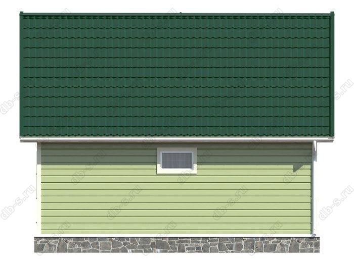 Проект каркасного дома площадью 86кв.м.