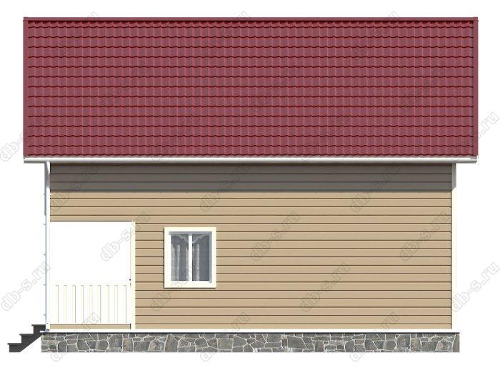 Строительство каркасных домов 9.5х10 под ключ