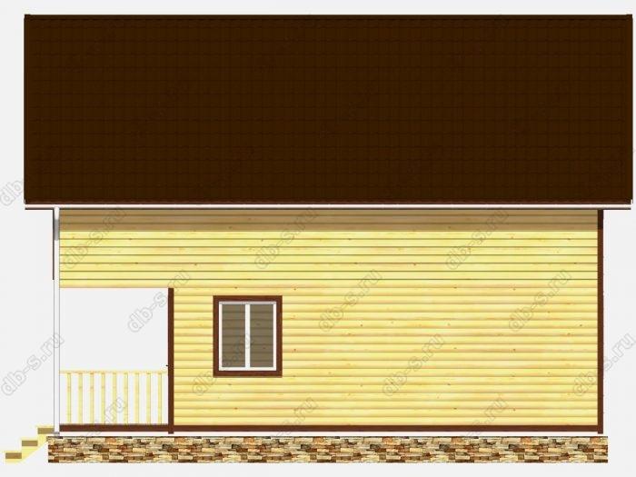 Строительство домов под ключ 9.5х10 из профилированного бруса
