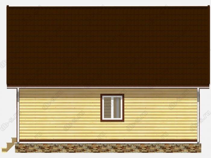Строительство домов под ключ 9х7.5 из профилированного бруса