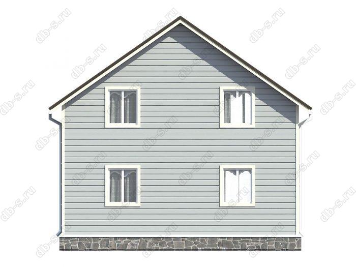 Проект каркасного дома площадью 131кв.м.