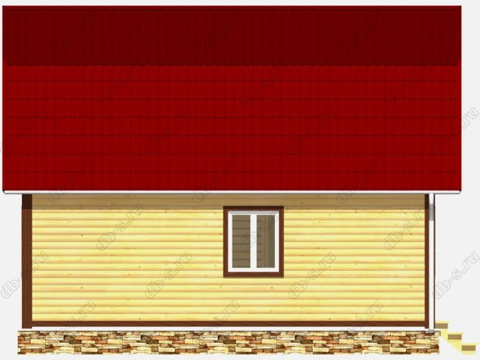 Строительство домов под ключ 6х8 из профилированного бруса