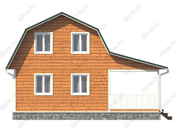 Фото каркасного дома под ключ 8 на 9